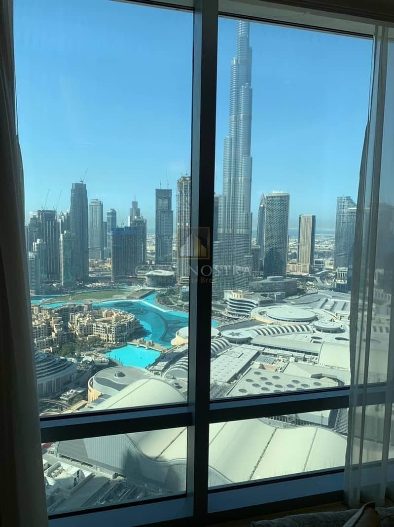 10 Burj Khalifa and Fountain view High End 3BR