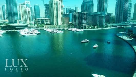 فلیٹ 2 غرفة نوم للبيع في دبي مارينا، دبي - Best layout. Full marina view. Call now.