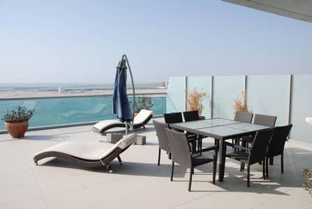 3 Bedroom Apartment for Sale in Al Raha Beach, Abu Dhabi - Rare large terrace 3 bed | Panoramic views
