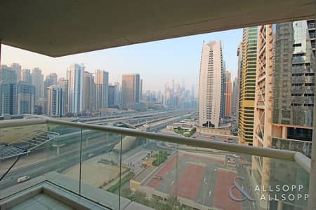 2 Bedroom Apartment for Sale in Jumeirah Lake Towers (JLT), Dubai - Marina Skyline View | 2 Bedrooms | Rented