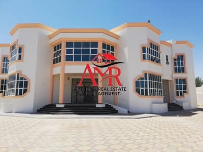 10 Bedroom Villa for Rent in Al Khalidiya, Al Ain - Massive Duplex Villa With Huge Yard & Green Garden