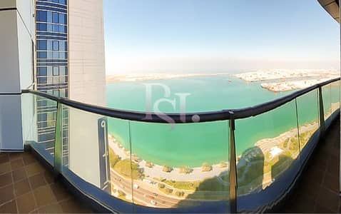 3 Bedroom Apartment for Rent in Corniche Area, Abu Dhabi - Spectacular Corniche View