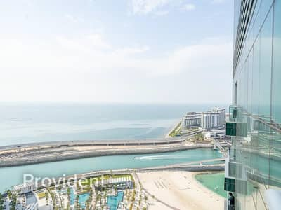 2 Bedroom Apartment for Rent in Jumeirah Beach Residence (JBR), Dubai - Amazing Sea View | Upgraded | Unfurnished