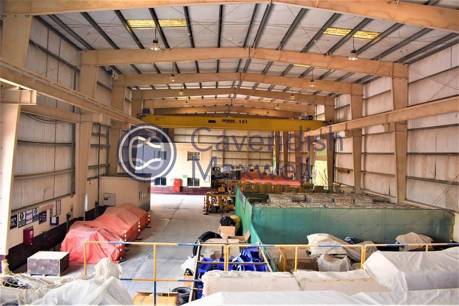 Big Plot I 9m Height | Warehouse With Cranes