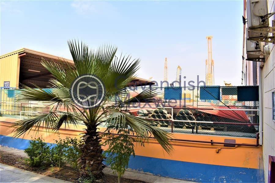 10 Big Plot I 9m Height | Warehouse With Cranes