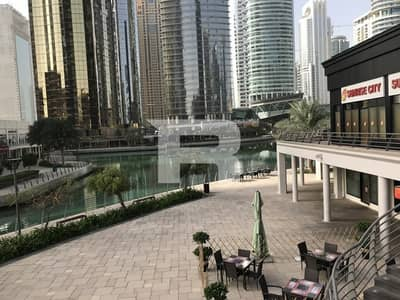 Shop for Sale in Jumeirah Lake Towers (JLT), Dubai - Fully Fitted Retail Space for Sale |Lake View