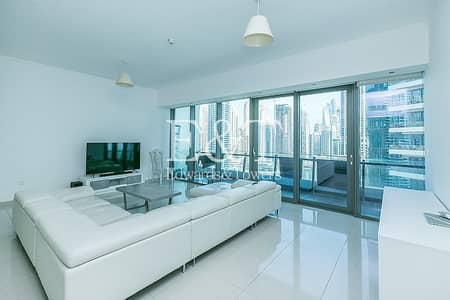 2 Bedroom Apartment for Rent in Dubai Marina, Dubai - Large Layout | Marina View | Well Maintained