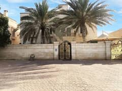 PRESTIGIOUS STAND ALONE 8 MASTER BEDROOM VILLA WITH AMAZING DECOR FOR RENT IN AL MAQTAA