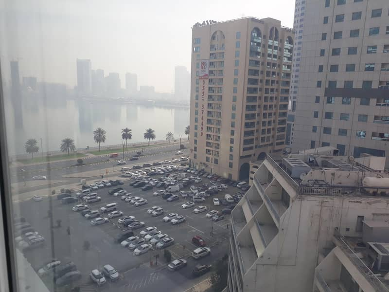 Glass Partitions/Fitted/Corniche view/Low rent !!