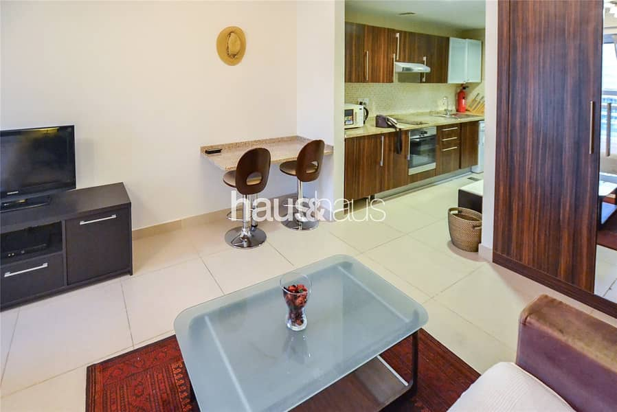 10 Studio| Fully furnished| Lake view| Available now