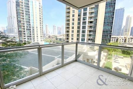 شقة 2 غرفة نوم للايجار في وسط مدينة دبي، دبي - 2 Bedrooms | Balcony | Burj Khalifa View