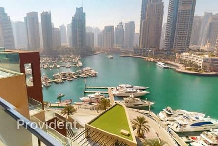 2 Bedroom Villa for Rent in Dubai Marina, Dubai - Luxury 2BR Duplex Villa | Panoramic Marina View