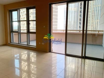 3 Bedroom Apartment for Rent in Downtown Dubai, Dubai - Spacious Balcony | 2 parking space | Well kept