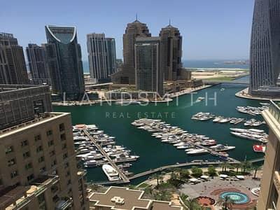 2 Bedroom Flat for Rent in Dubai Marina, Dubai - Full Marina and Lake View 2BR on High Floor Apt