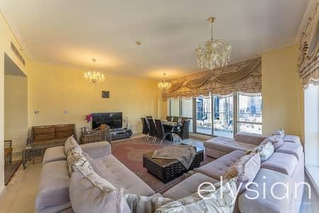 فلیٹ 2 غرفة نوم للايجار في البرشاء، دبي - Full Burj & Park View | Big layout | Furnished