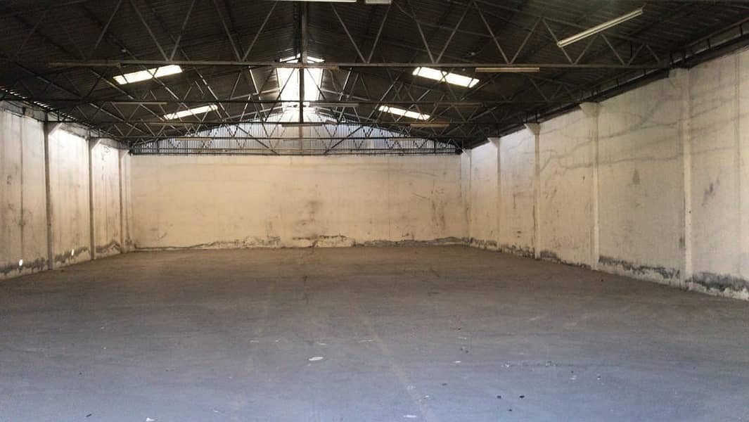 2 Exclusive Warehouse   Suitable for Industrial Storage   Size:5000 SqFt