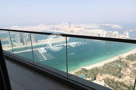 4 Bedroom Flat for Rent in Dubai Marina, Dubai - High floor | Full sea view | Ready to Move