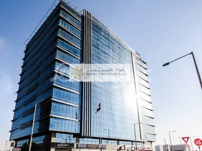 طابق تجاري  للايجار في الطريق الشرقي، أبوظبي - Directly from Landlord (No commision) - Khalifa Park Tower - Spectacular Views of Sheikh Zayed Grand Mosque & city views