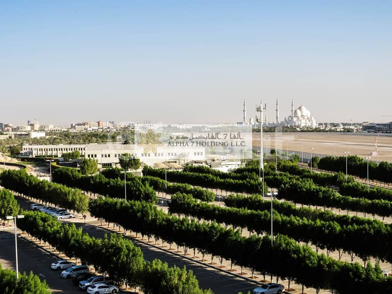 2 Directly from Landlord (No commision) - Khalifa Park Tower - Spectacular Views of Sheikh Zayed Grand Mosque & city views