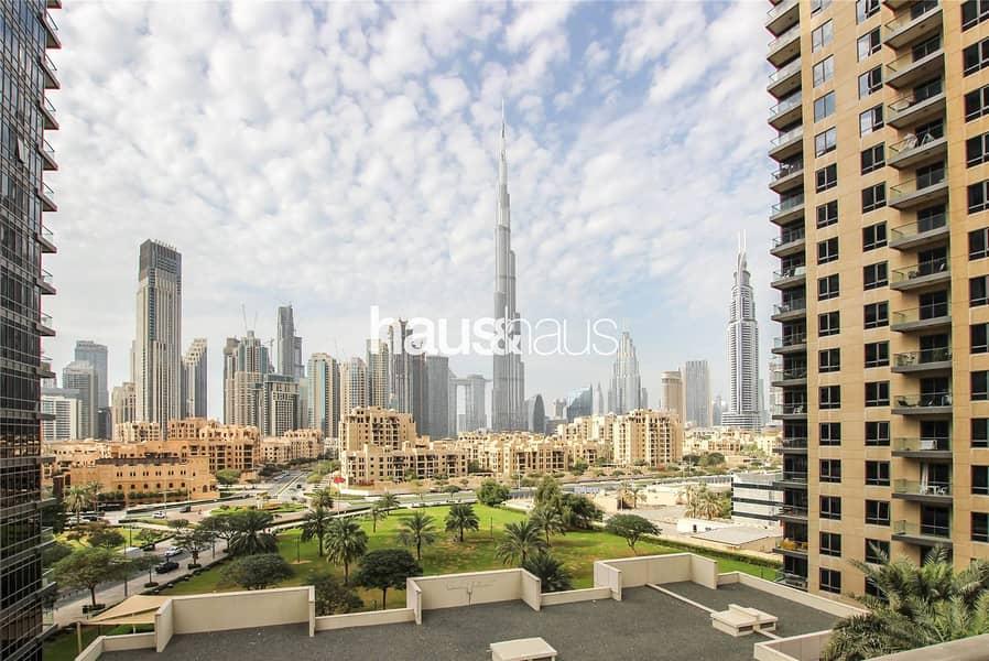 Burj Khalifa View | Spacious Living | Chiller free