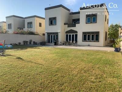 فیلا 3 غرف نوم للايجار في جميرا بارك، دبي - Extended  |  Large Plot |   Vacant April