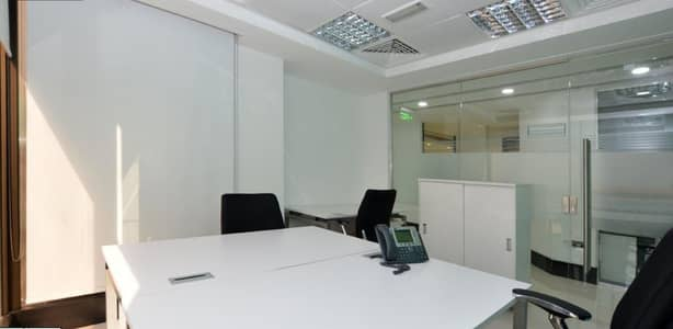 Office for Rent in Sheikh Khalifa Bin Zayed Street, Abu Dhabi - Affordable Shared Office Space