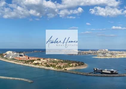 3 Bedroom Apartment for Sale in Dubai Harbour, Dubai - Corner Unit| Full Sea Marina & Dubai Eye View