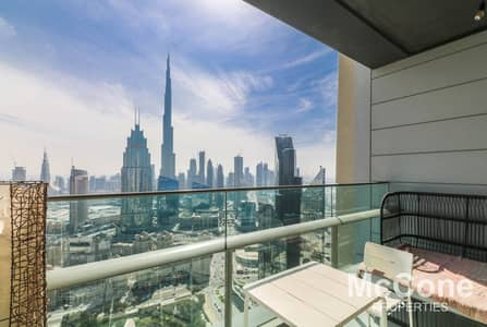 2 Bedroom Flat for Sale in DIFC, Dubai - Spacious Apartment   Burj Khalifa & Sea View