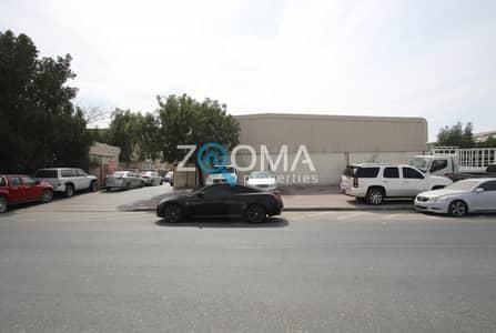 مستودع  للبيع في القوز، دبي - Al Qouz Industrial 2 | Corner Plot | Hight ROI