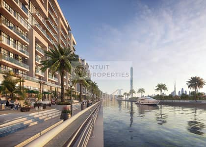محل تجاري  للبيع في مدينة ميدان، دبي - Best investment in centre of Dubai | Shops on Canal | Handover soon