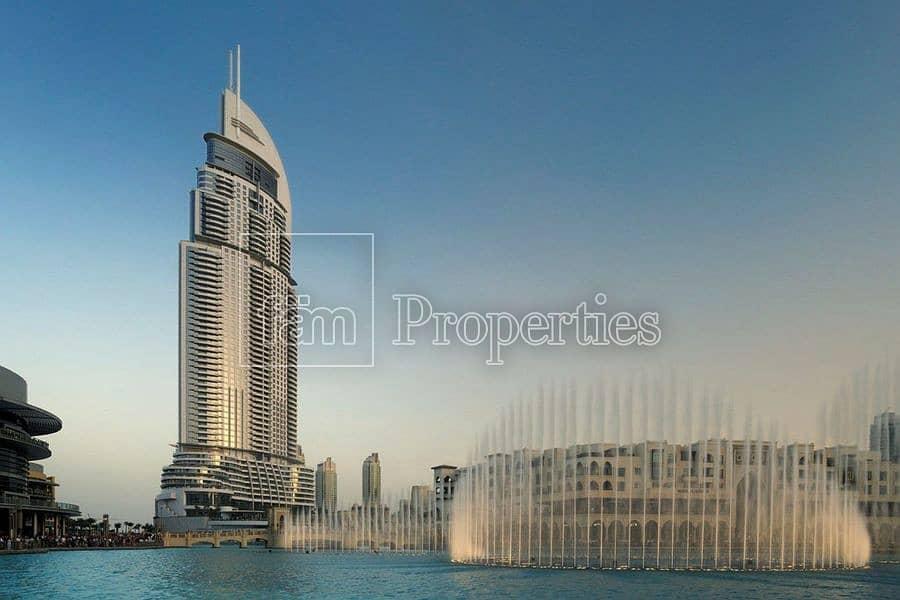 10 High Floor | Full Burj Khalifa and Fountain View