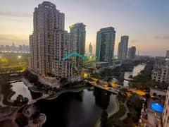 شقة في موسيلا ووترسايد السكني موسيلا ذا فيوز 2 غرف 100000 درهم - 4999493