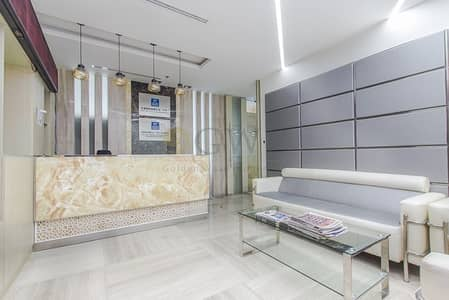 Office for Rent in Business Bay, Dubai - Fully Furnished |5 parking bays|Ready to move in