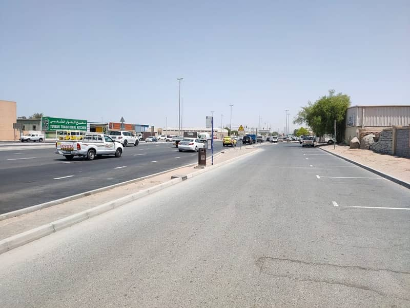 2 Industrial plot for yearly rent in Al Quoz on the Main road