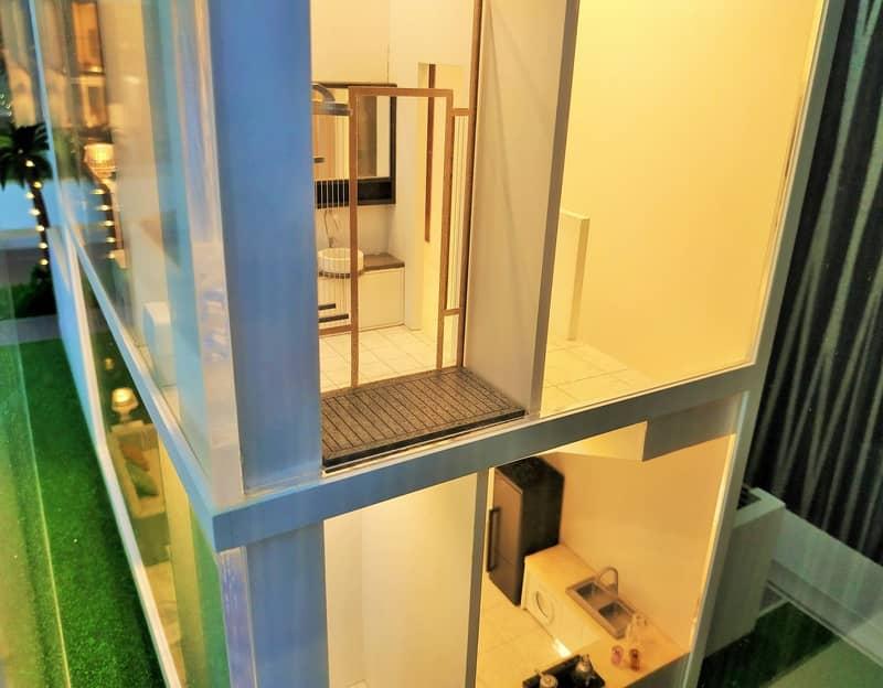 11 Phase 2: 1 Bedroom Townhouse loft + Front garden