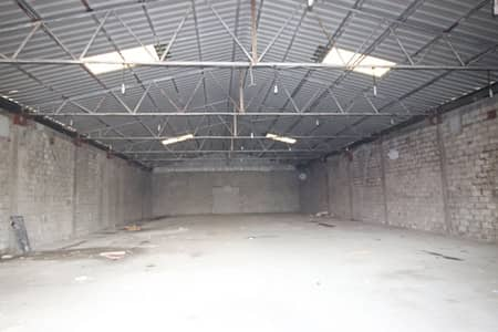Warehouse for Rent in Industrial Area, Sharjah - Upgradable Power Capacity | Easy Access to Main Road | For Storage Purposes