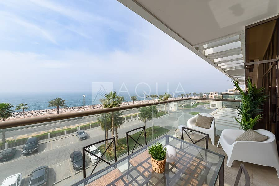 10 Sea View | 6 months/1 year | Furnished high end