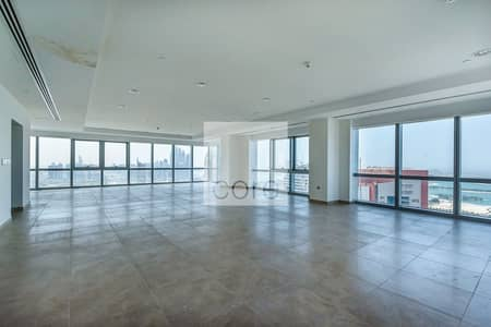 Floor for Rent in Barsha Heights (Tecom), Dubai - Full Floor | Fitted Penthouse | Metro Link