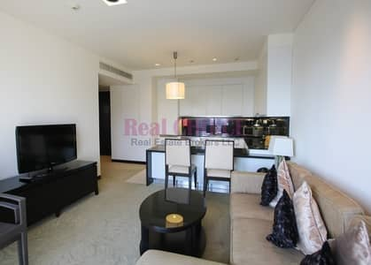 شقة فندقية 1 غرفة نوم للايجار في دبي مارينا، دبي - All Bills inclusive/Link to Dubai Marina Mall