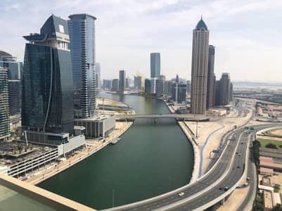 فلیٹ 1 غرفة نوم للايجار في الخليج التجاري، دبي - Spacious | Bigger Unit | Burj and Canal View