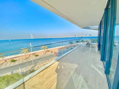 شقة 2 غرفة نوم للايجار في نخلة جميرا، دبي - Sea and sunset views | PRIVATE BEACH | FURNISHED