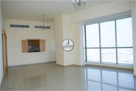 شقة 3 غرف نوم للايجار في دفن النخیل، رأس الخيمة - 3BEDROOM- Julphar Towers RAK- Sea View- AED-64
