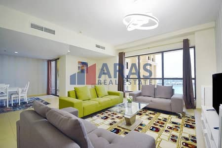 2 Bedroom Flat for Sale in Jumeirah Beach Residence (JBR), Dubai - Immaculate Large 2Bed Fully Furnished Sea View