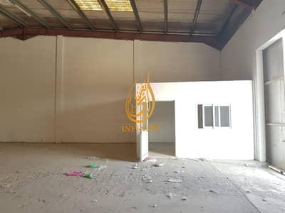 مستودع  للايجار في المنطقة الصناعية، الشارقة - INSULATED WAREHOUSE FOR RENT WITH OFFICE