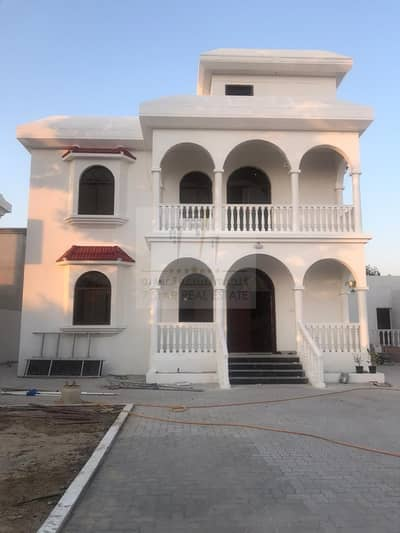 5 Bedroom Villa for Rent in Wasit Suburb, Sharjah - Beautiful villa Consists of two floors with swimming pool