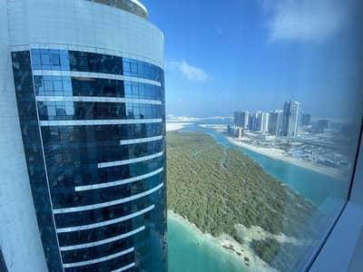 استوديو  للايجار في جزيرة الريم، أبوظبي - Direct to the Owner | Furnished and sea view