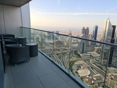 3 Bedroom Flat for Sale in Downtown Dubai, Dubai - Sky collection|+50Floor|Significant view|Luxurious