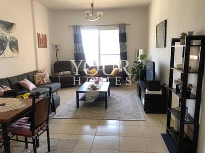 شقة 1 غرفة نوم للايجار في قرية جميرا الدائرية، دبي - UK |  Fully Furnished 1Bed With pool View
