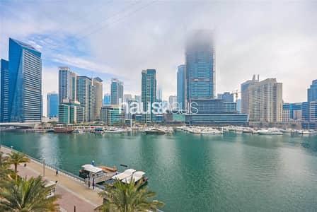 3 Bedroom Apartment for Sale in Dubai Marina, Dubai - Panoramic Marina Views | Vacant | Low Floor