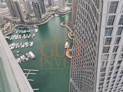 1 Bedroom Apartment for Rent in Dubai Marina, Dubai - LARGE BRIGHT FENDI 1 BR CHILLER FREE FULL MARINA VIEW